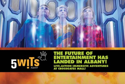 5 WITS - The Future of Entertainment has Landed in Albany!