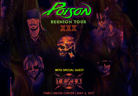 Poison at TU Center