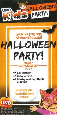 Halloween Party - Crossgates Mall