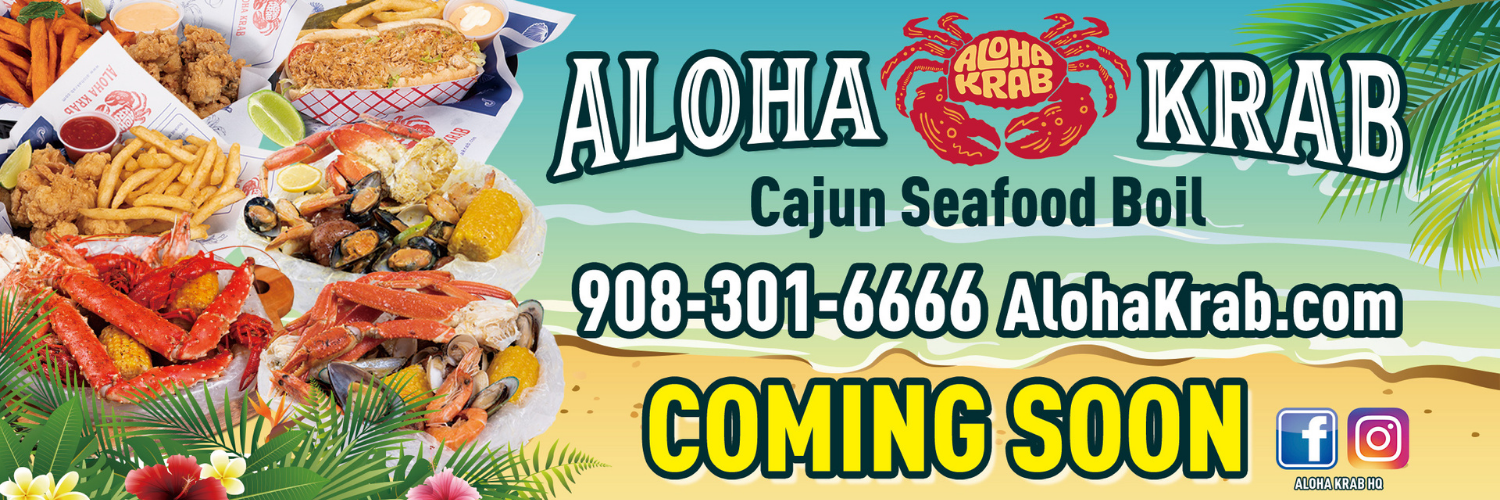 Aloha Krab Coming Soon Web Slider