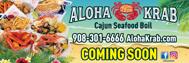 Aloha Krab Coming Soon Web Slider