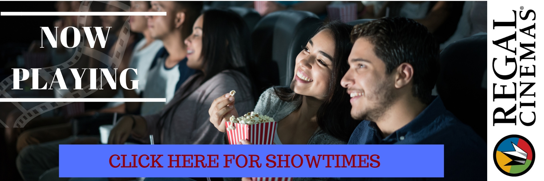Regal Showtime Website Banner