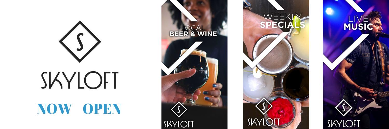 Skyloft Website Banner Now Open NO FOOD