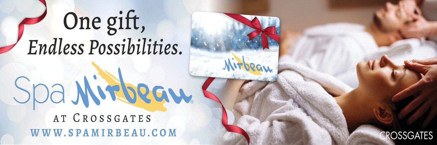 Spa Mirbeau Holiday Gift Cards 1500x500
