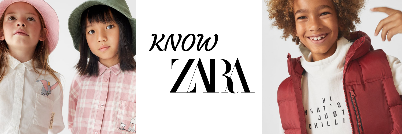 Zara BTS Website Slider
