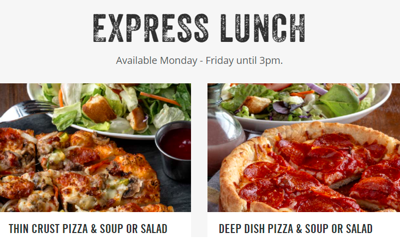 UNO Express Lunch