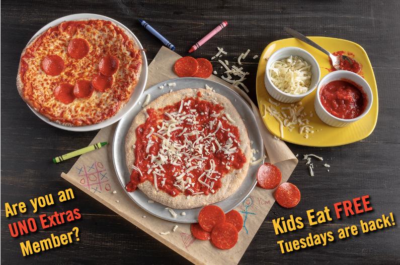 UNO Kids Eat Free