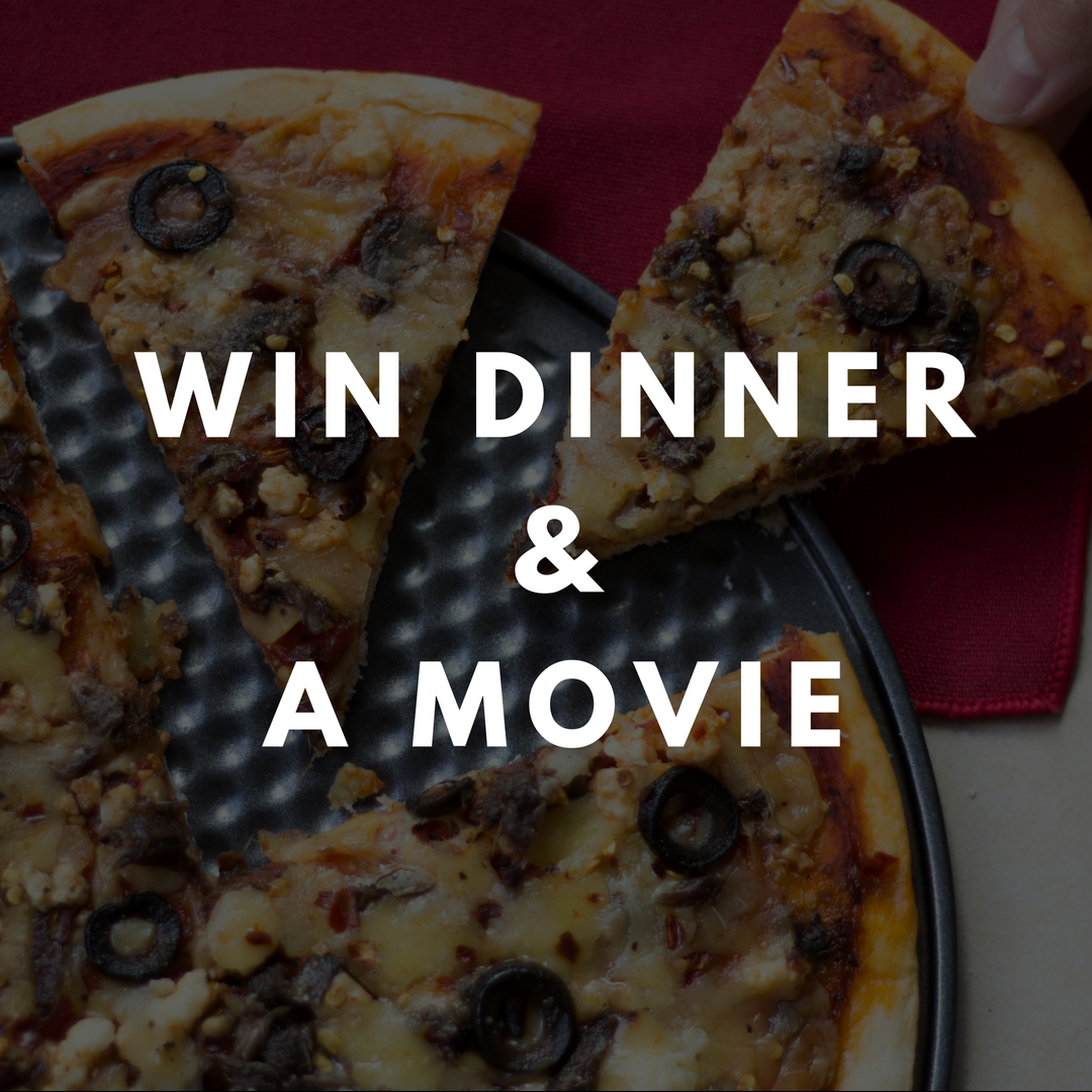 Dinner and Movie Giveaway