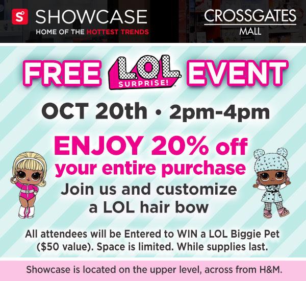 LOL Surprise Event - Crossgates