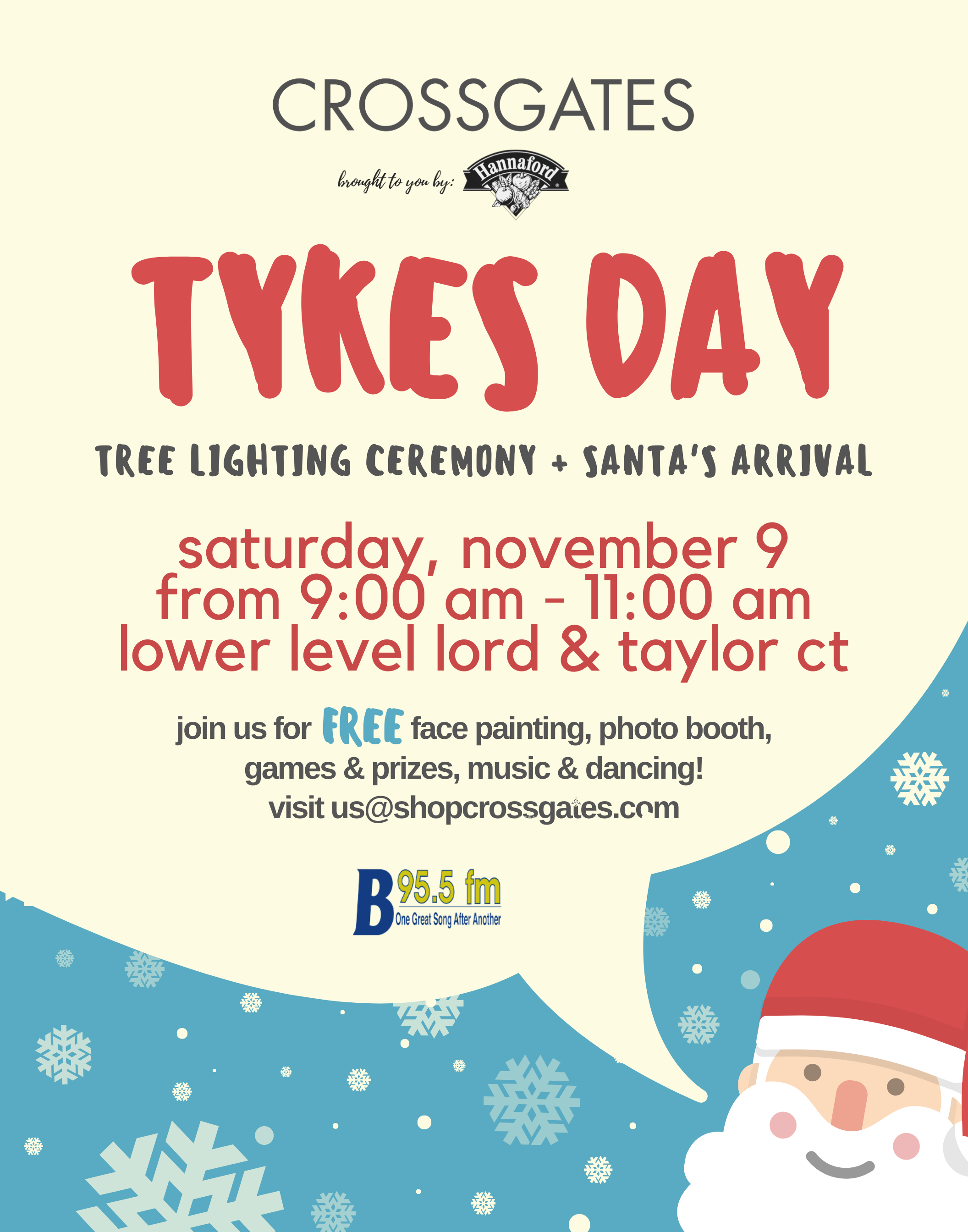 Tykes Day w Santa 2019 22x28 Revised