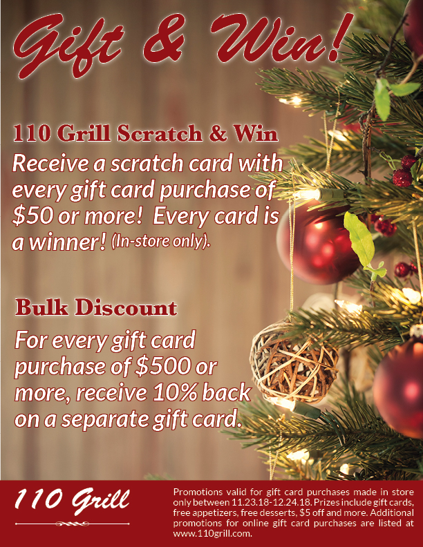 Holiday Gift Card Promotions Crossgates Mall