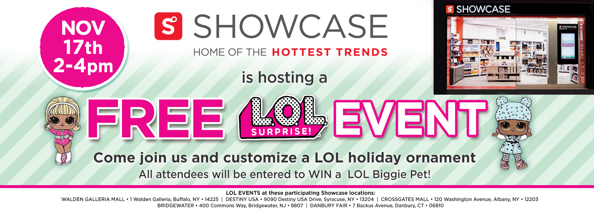 Lol Surprise Doll Event Crossgates Mall