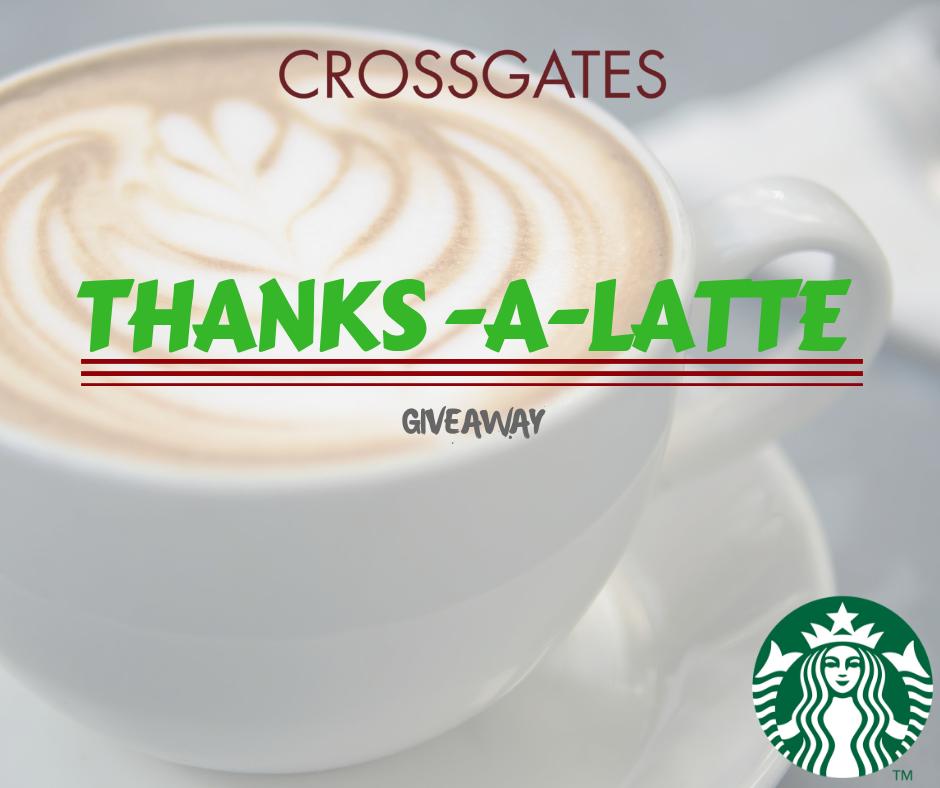 Starbucks Thanks a Latte Giveaway