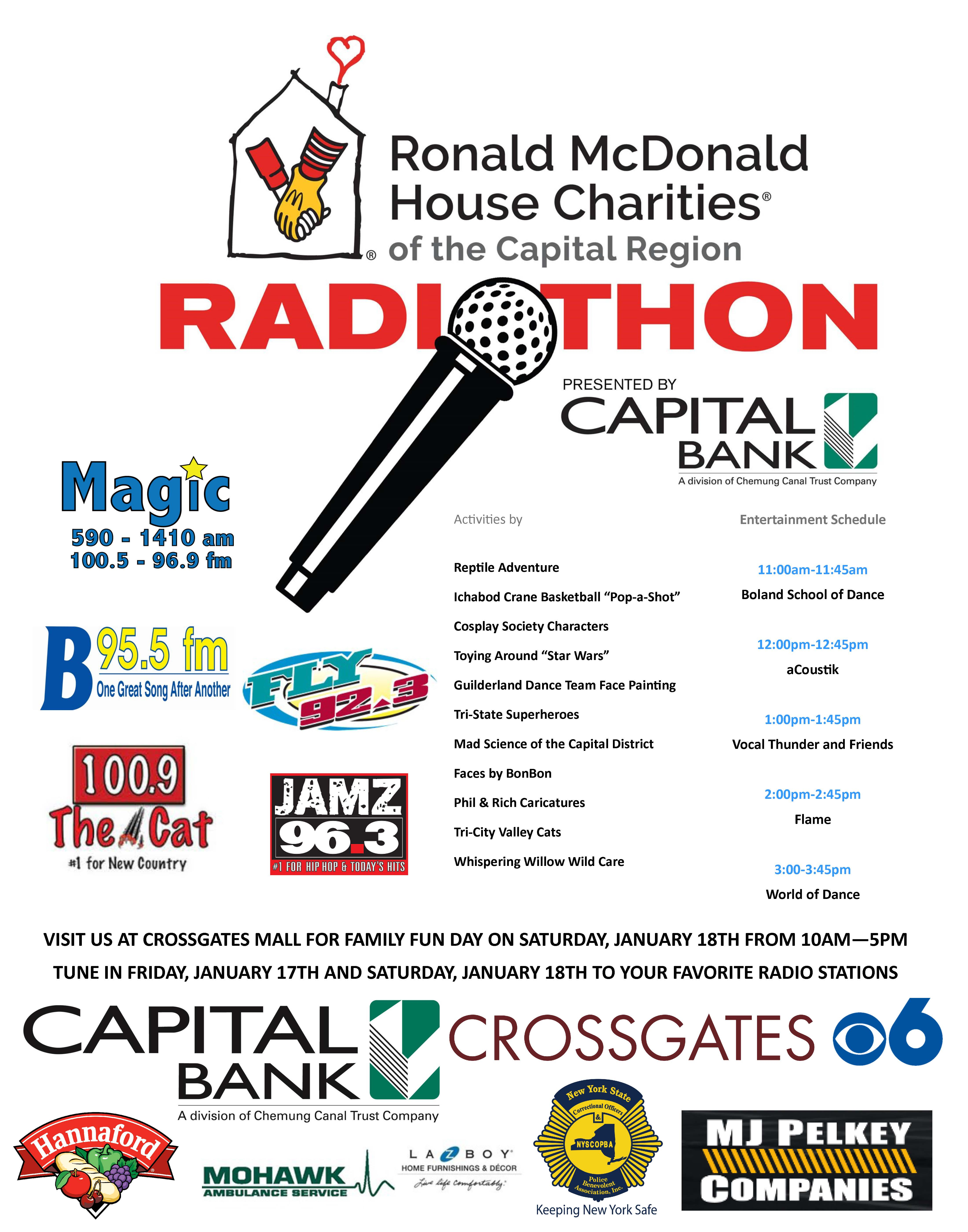 2020 Radiothon with entertainment