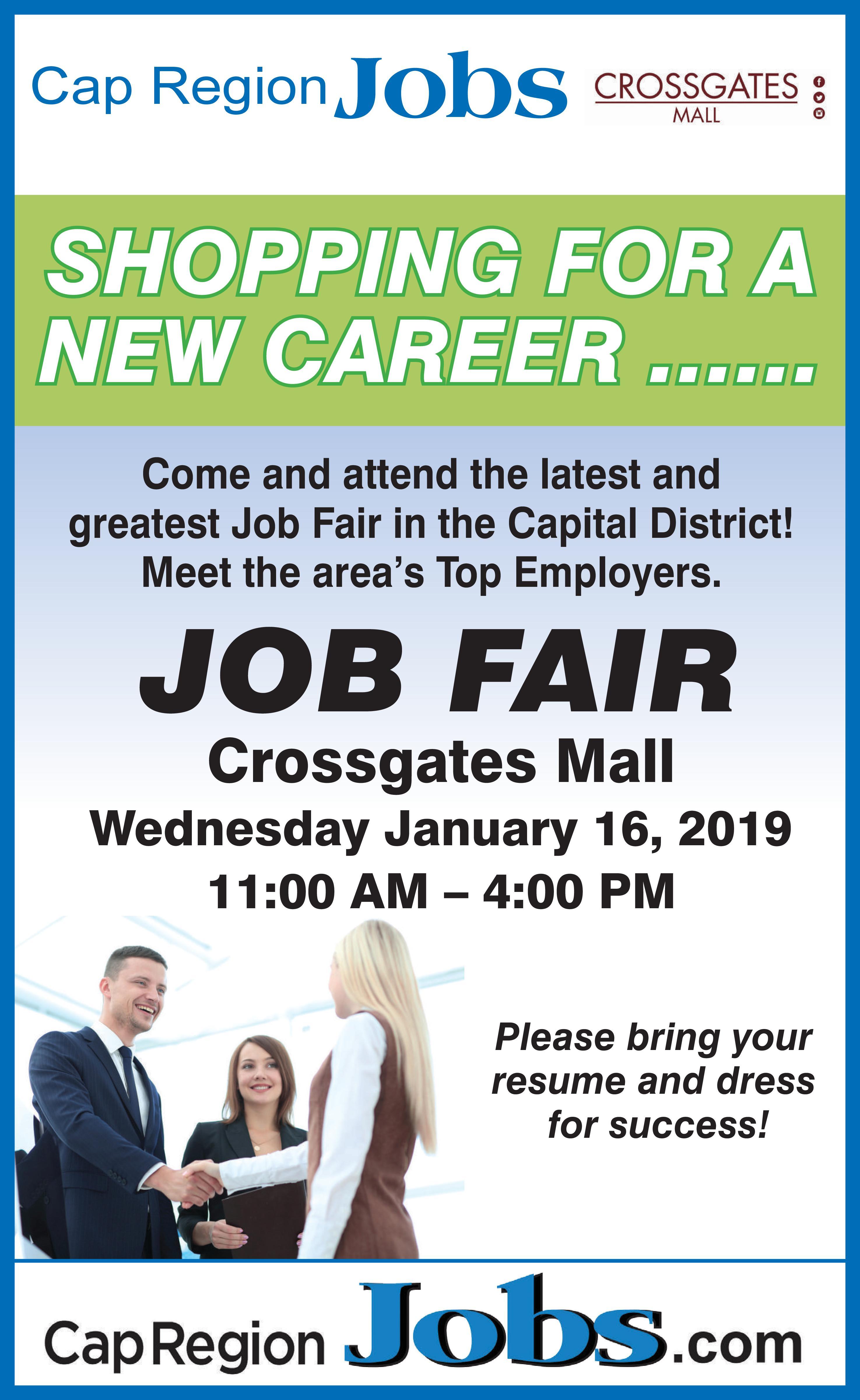 The Daily Gazette Job Fair 11 00 A M 4 00 P M Crossgates Mall