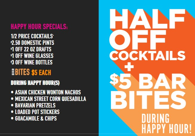 DB Happy Hour Specials