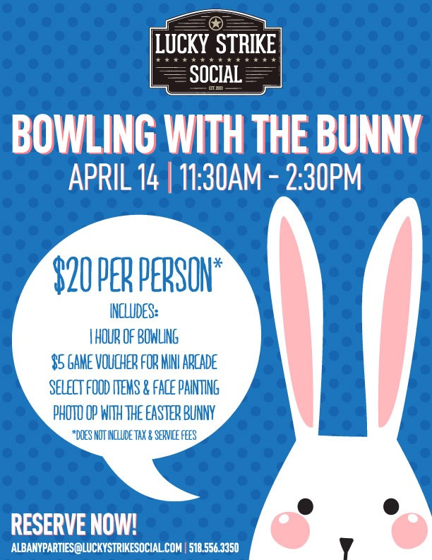 LSS Bowling with the Bunny