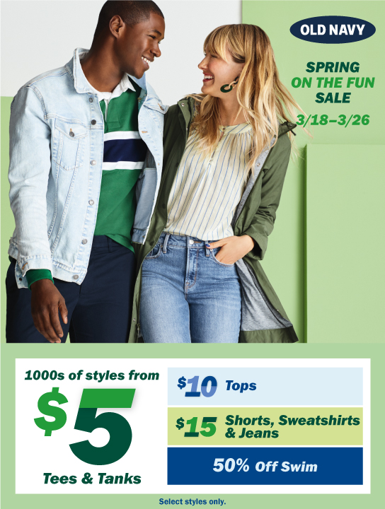 Old Navy SPRPreview