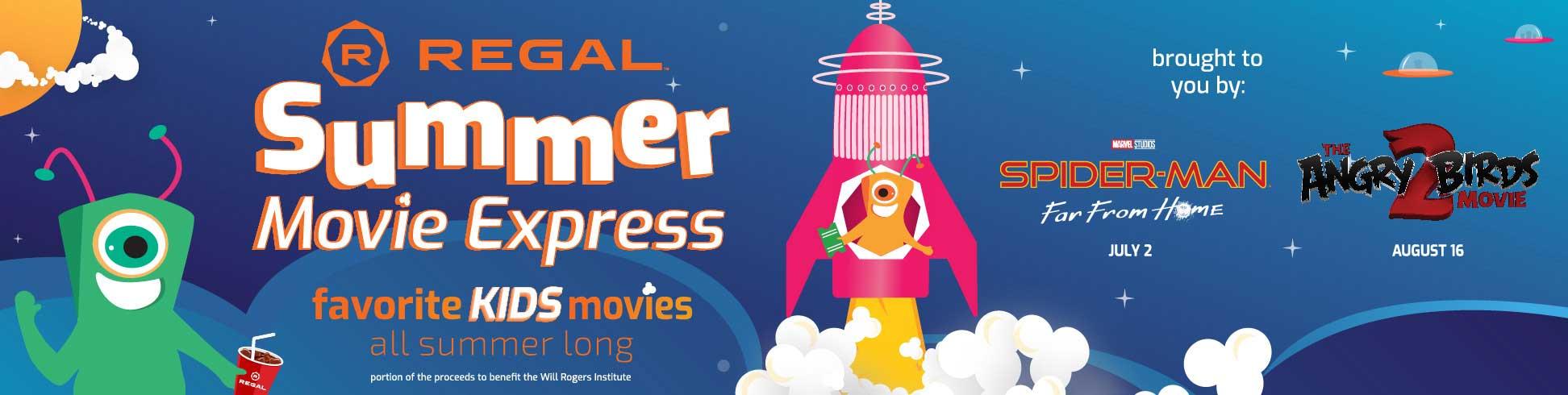 Regal 2019 Summer Movie Express