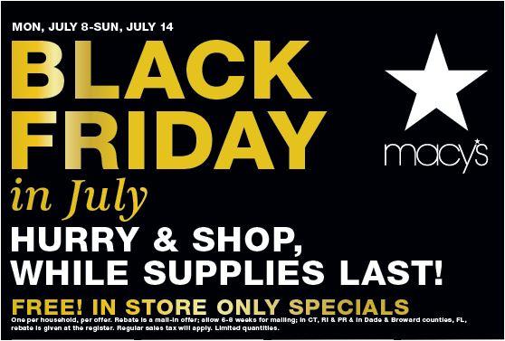 Black Friday in July - Crossgates