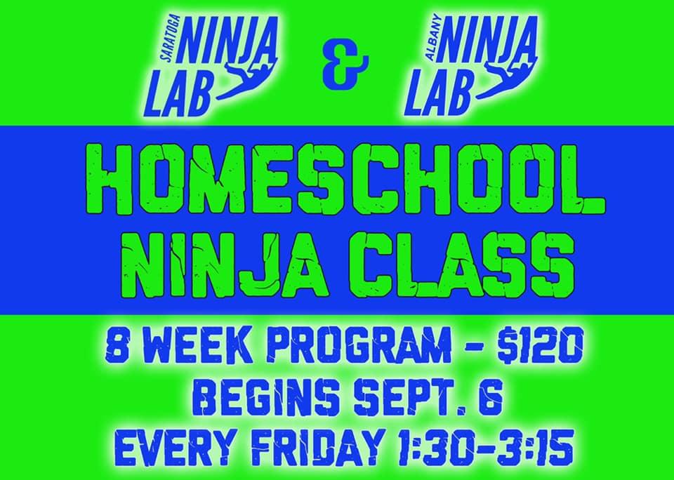 Albany Ninja Lab Homeschool