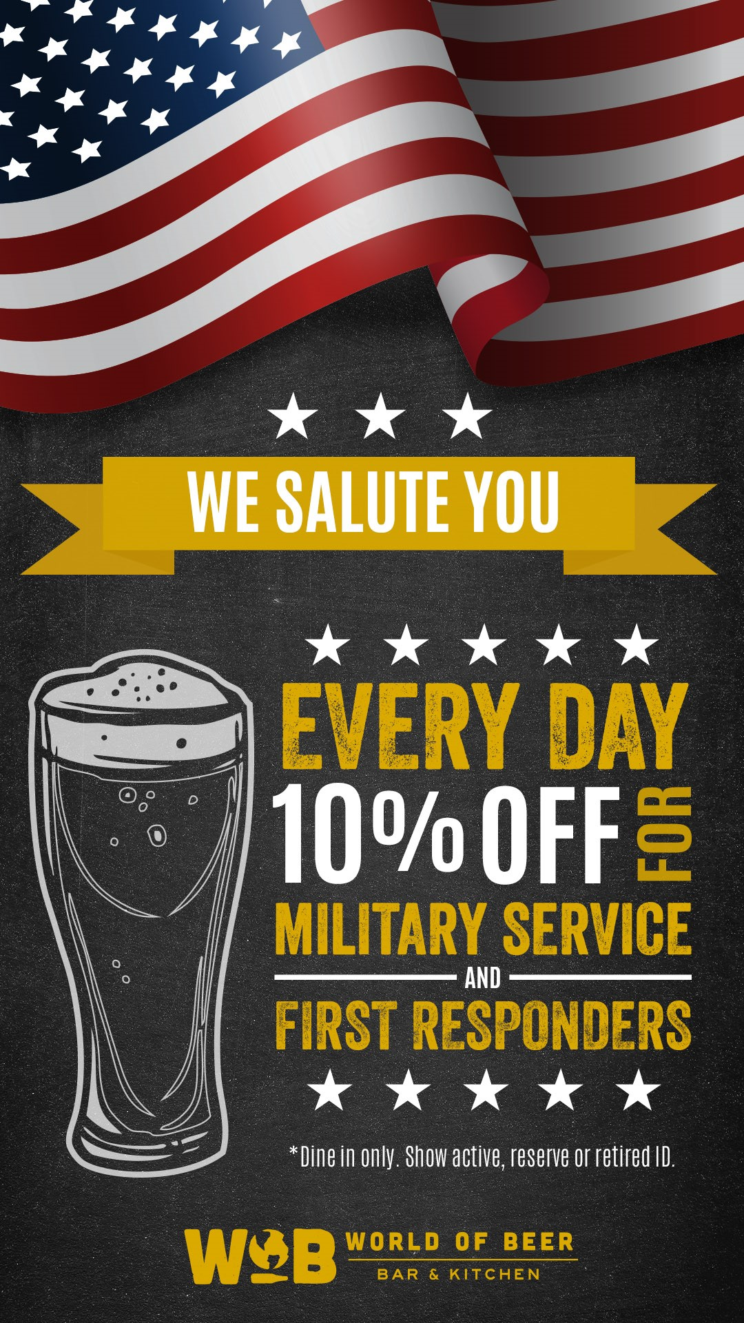 WOB Military Discount