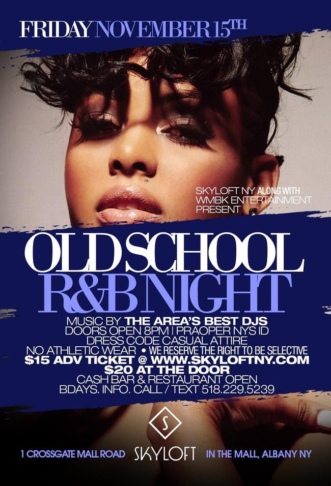 November 15 Old School RB Night