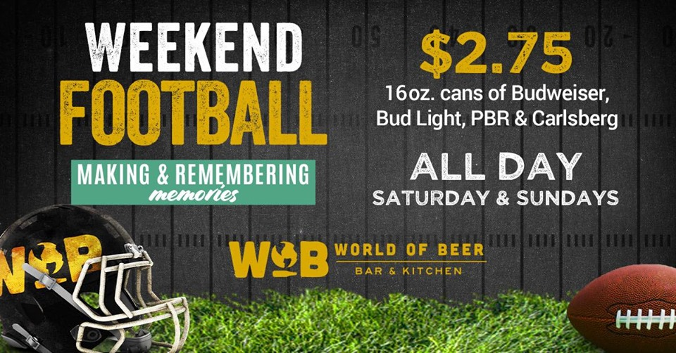 WOB Football Special