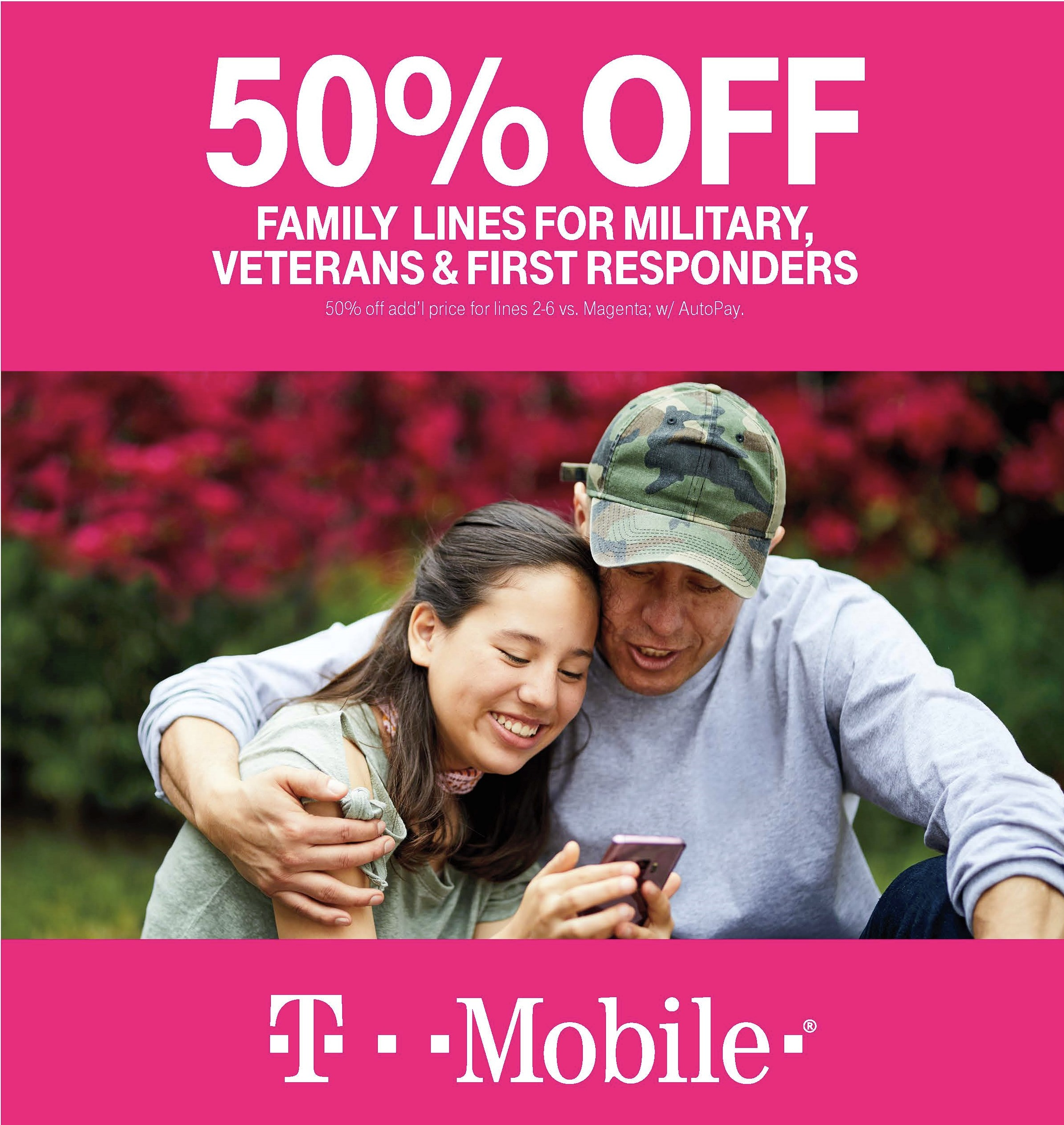 TMobile Military First Responders Samsung Offer Page 1