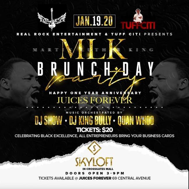 January 19 MLK Jr Brunch Party