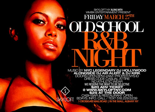 March 27 Old School RB Night