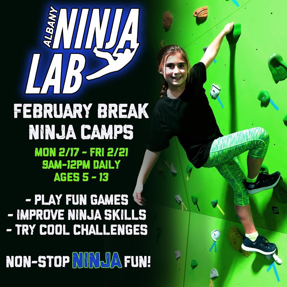 Albany Ninja Lab February Break