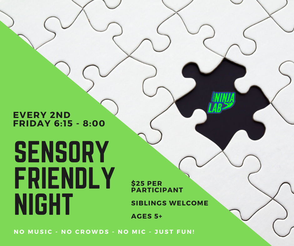 Albany Ninja Lab Sensory Night