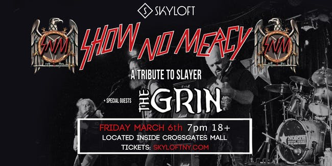 March 6 Show No Mercy Slayer Tribute