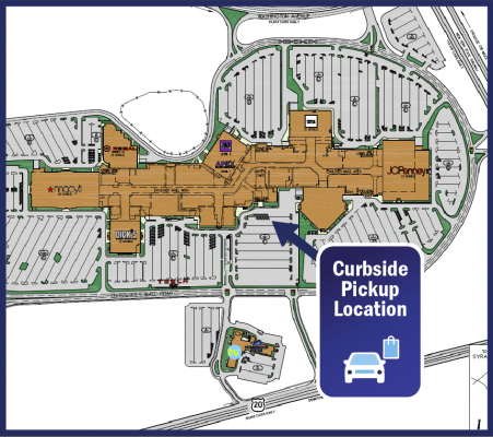 Crossgates Curbside Map