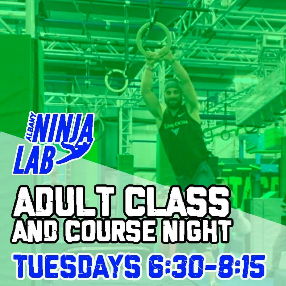 Albany Ninja Lab Adult Night