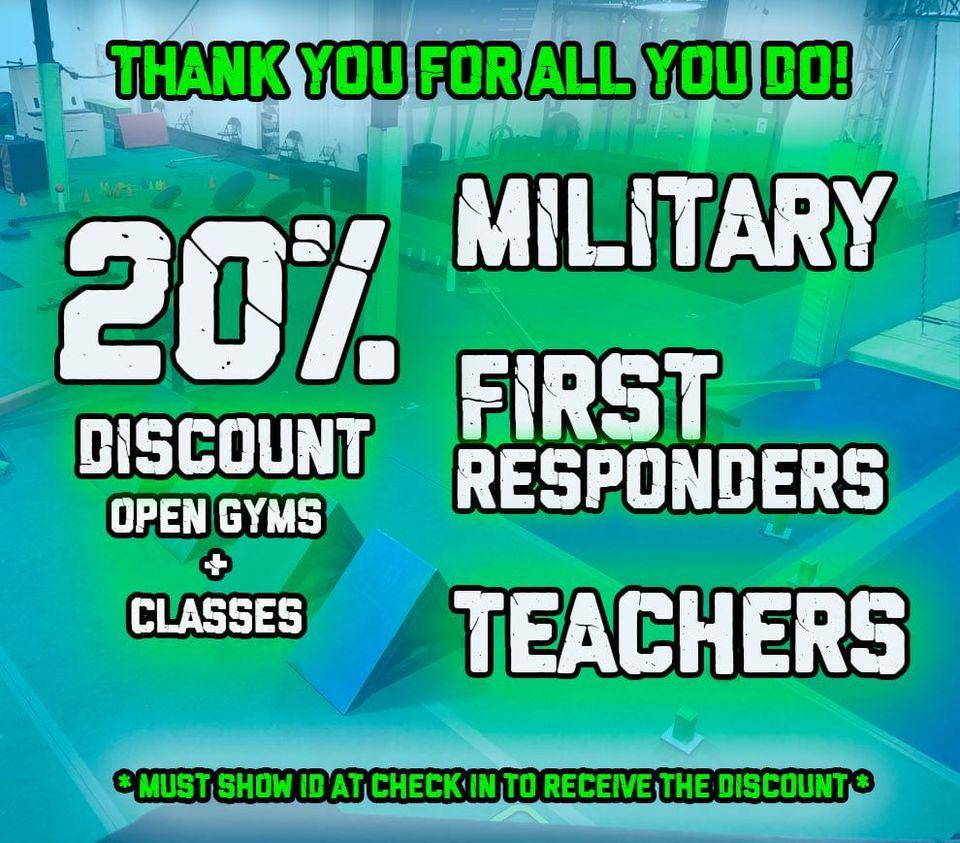 Albany Ninja Lab Military Discount