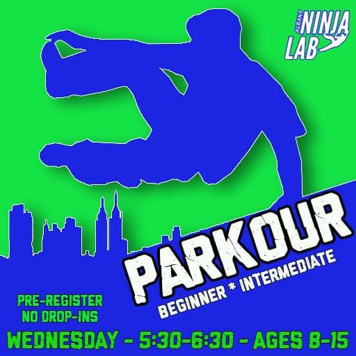 Albany Ninja Lab Parkour