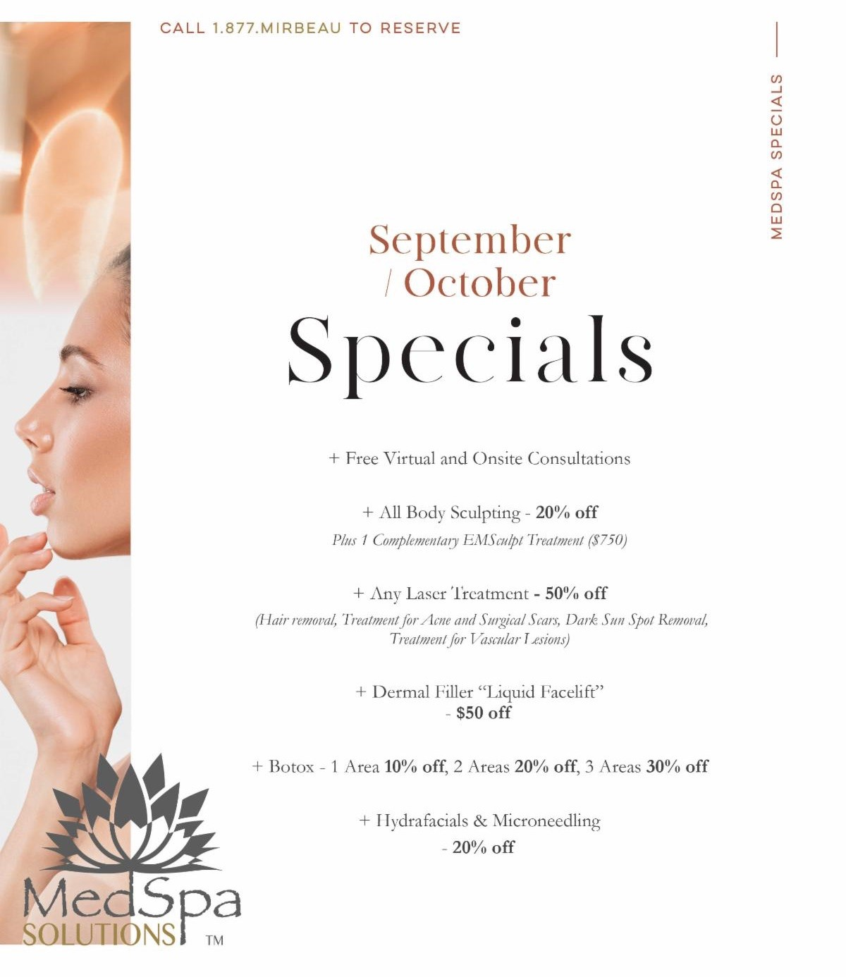 MedSpa Sept.Oct Specials