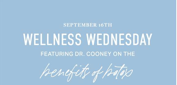 Spa September Wellness Wednesday