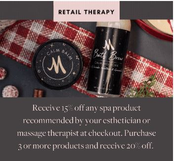 Spa Mirbeau January retail offer