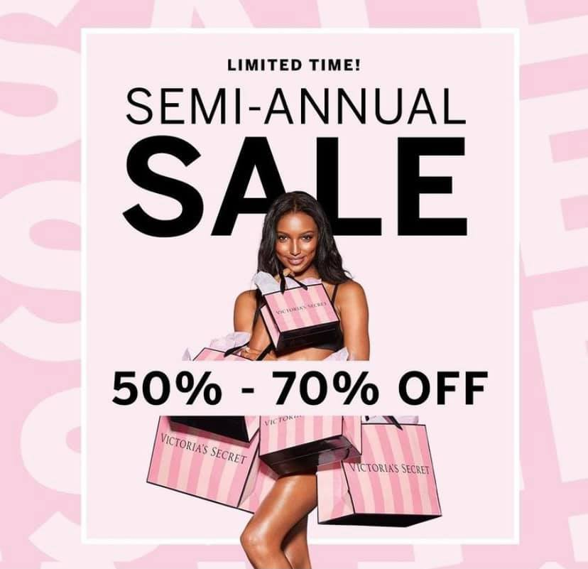 Victorias Secret semi annual sale