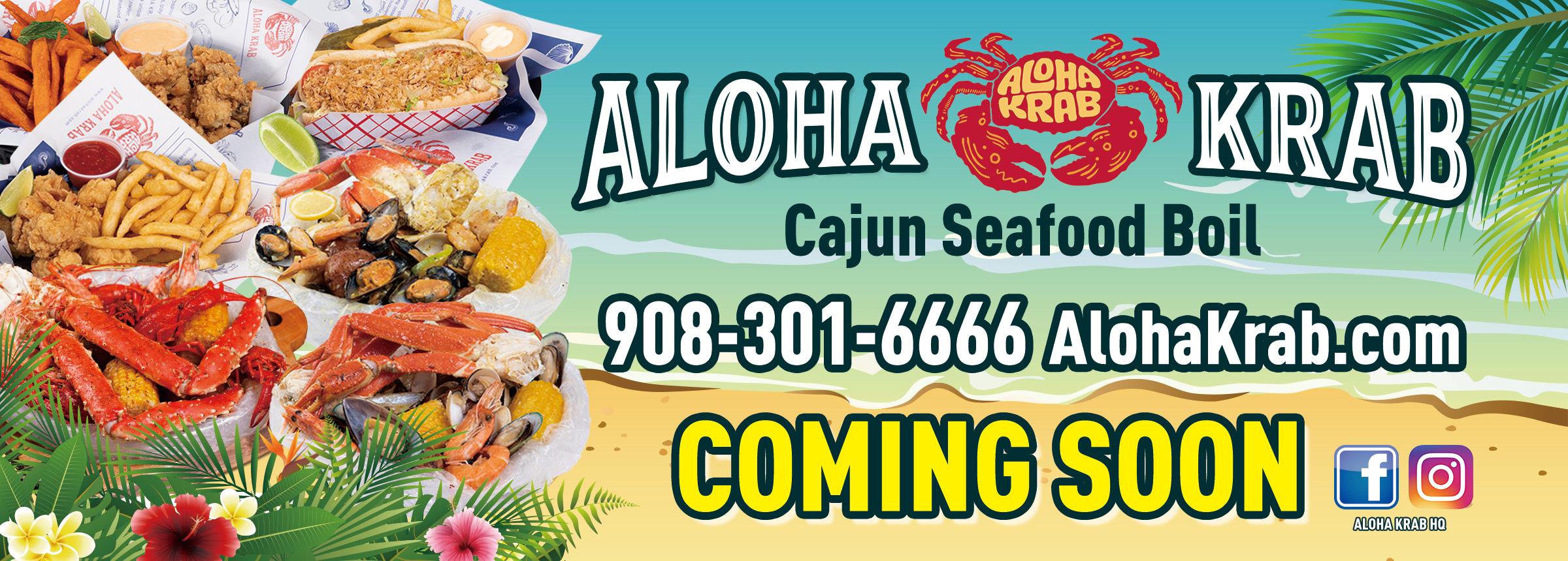 Aloha Krab NY 9083016666 Website Banner Ad