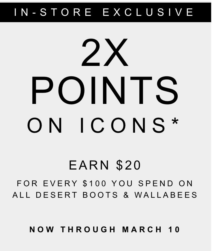 Clarks 2x Icons