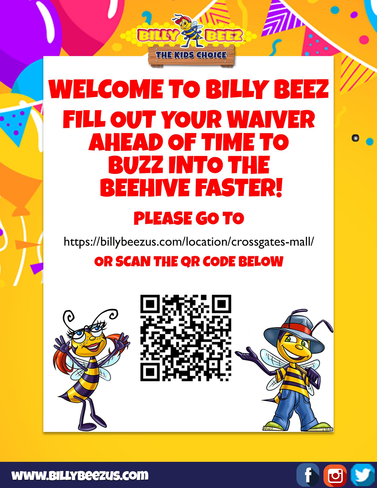 Billy Beez Waiver