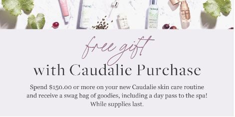 Spa Mirbeau Caudalie gift with purchase