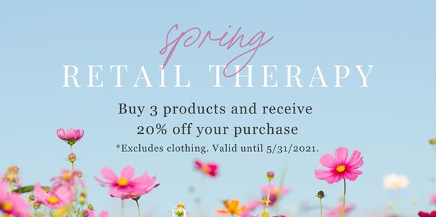 Spa Mirbeau May Retail Therapy