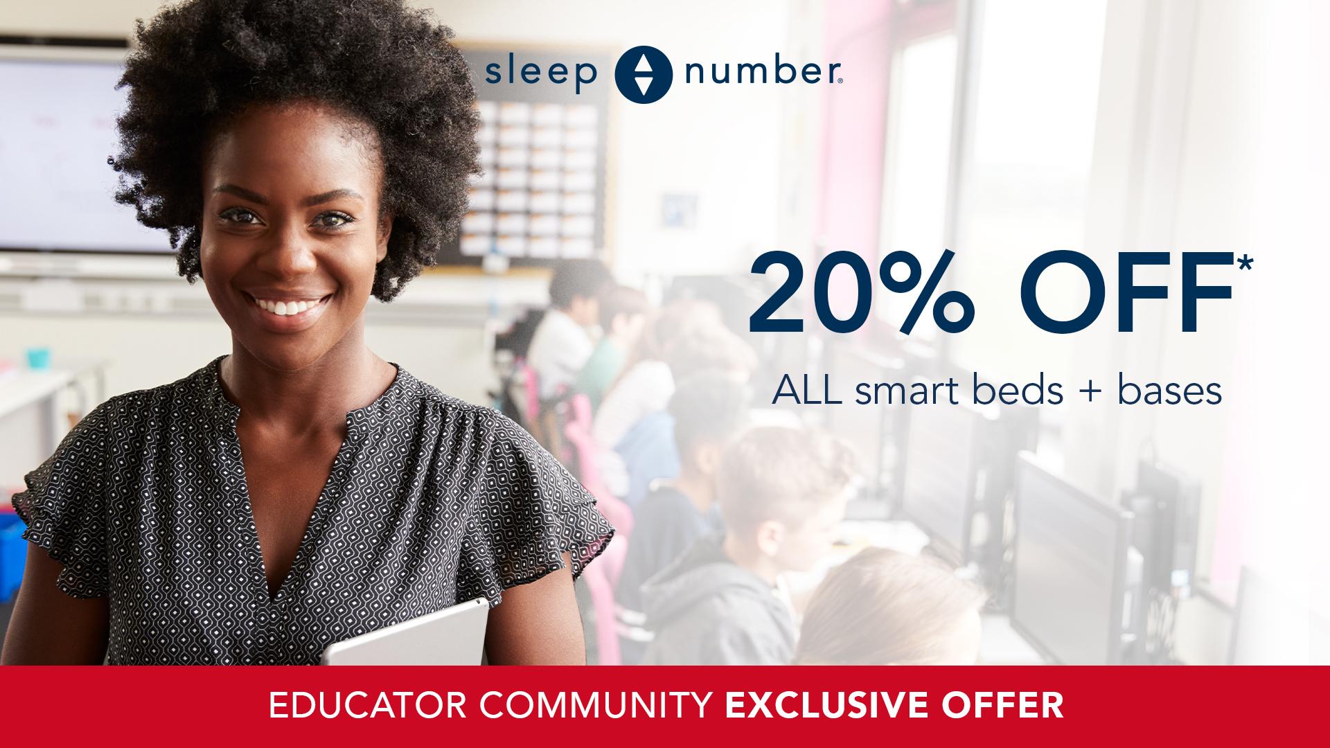 sleep number educatoroffer