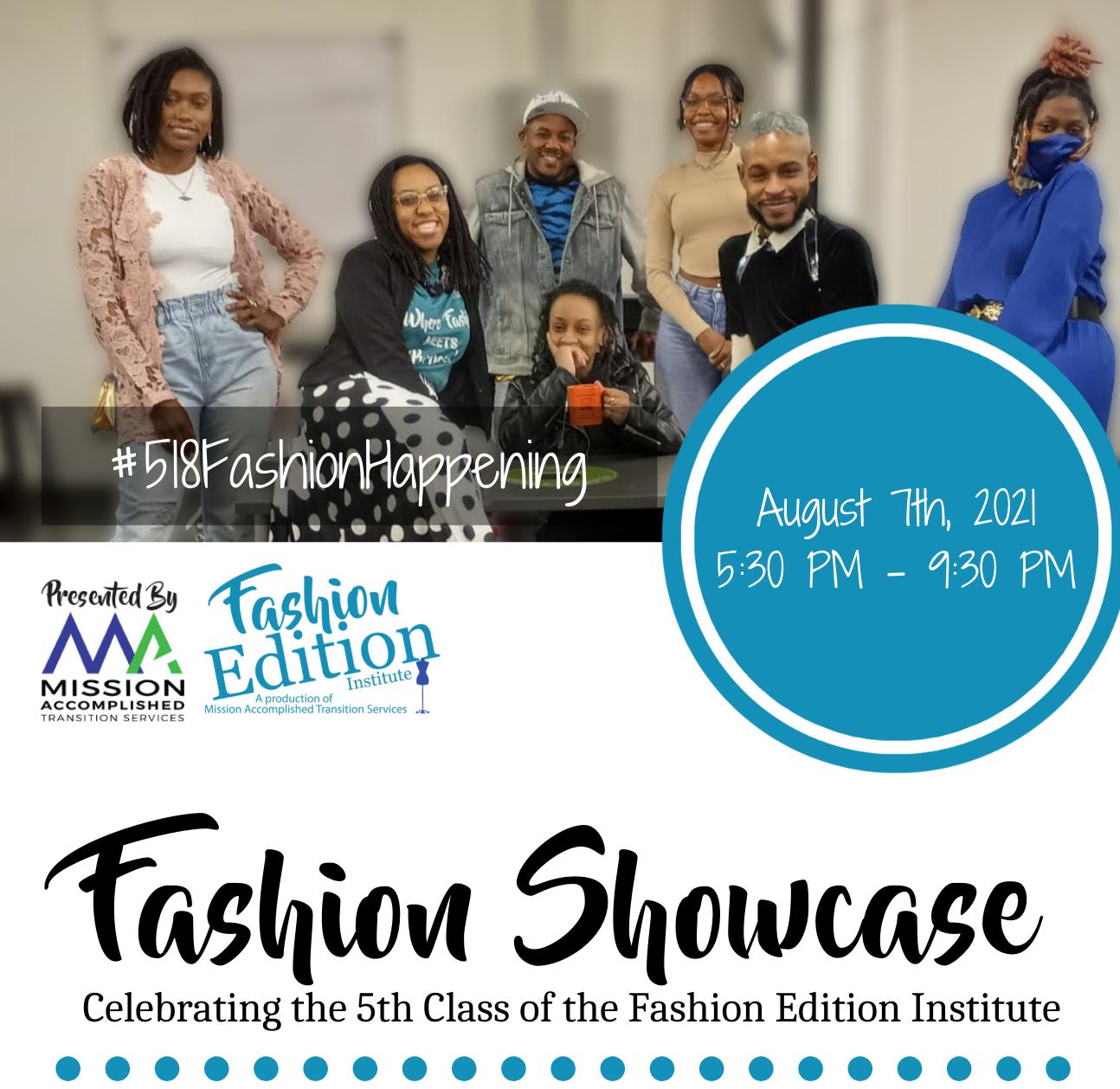 2021 Fashion Showcase Promo Image WOOC