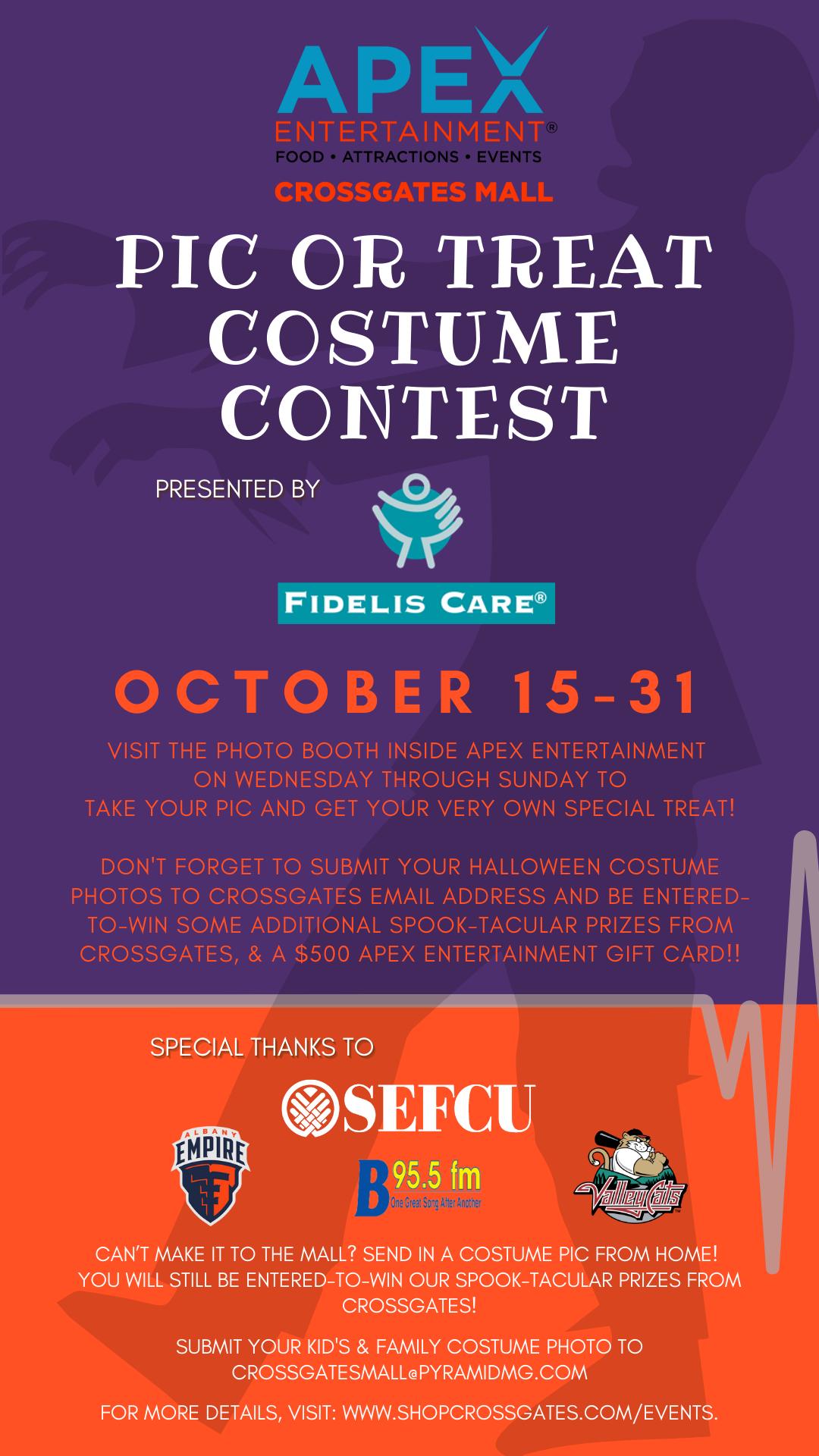 Digital Directory Fidelis Apex costume contest